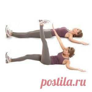 Упражнения для плоского живота — Всегда в форме!