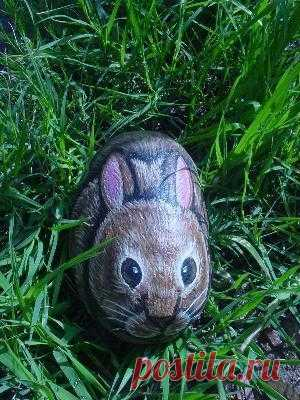 rockpaintingiii: View Photo:rabbit