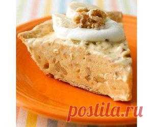 Бананово-ореховый пасхальный пирог с мороженым | www.wmj.ru