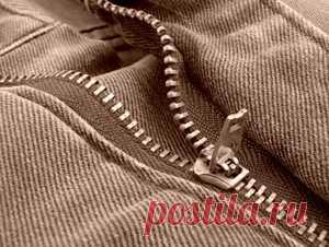 Как вшить молнию в брюки | Выкройки одежды на pokroyka.ru