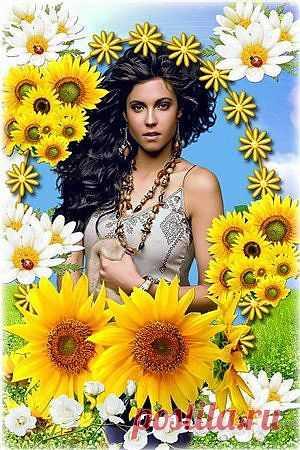Красивая цветочная рамка - Весна пришла » RandL.ru - Все о графике, photoshop и дизайне. Скачать бесплатно photoshop, фото, картинки, обои, рисунки, иконки, клипарты, шаблоны.