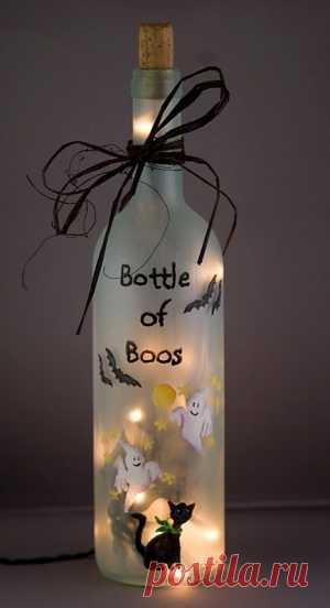 необычная бутылочка. Идея из США.