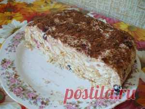 Торт «Скорый» без выпекания — Lady Блог