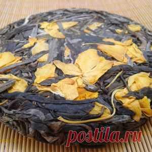 Справжній український чай :: Шен Пуер :: Шен Пуэр с цветами дендробиума 100 г.