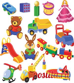 Выбор игрушек для детей до 1 года