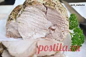 """Буженина в """"рукаве""""- нежнейшее мясо свинины, которое готовится безумно просто!"""