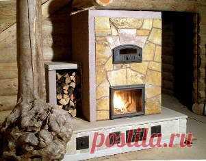 Описание и руководство по сооружению печей, каминов и кухонных плит для дома и бани.