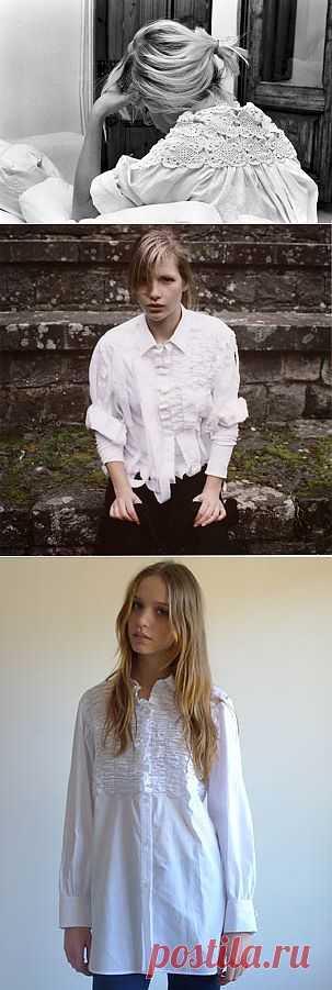 Рубашки от Cecilia Sörensen (трафик) / Рубашки / Модный сайт о стильной переделке одежды и интерьера
