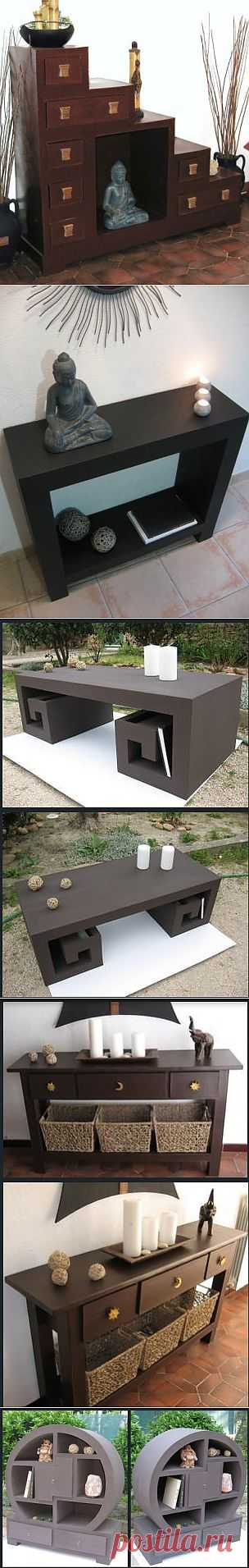 Мебель из картона.
