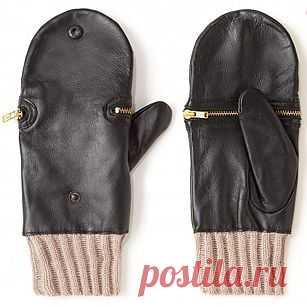 На молнии / Перчатки и варежки / Модный сайт о стильной переделке одежды и интерьера