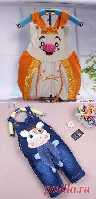 Развеселые идеи для пошива детской одежды.