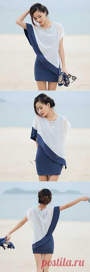 Платье с накидкой / Платья Diy / Модный сайт о стильной переделке одежды и интерьера