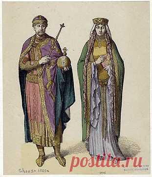 королева и король