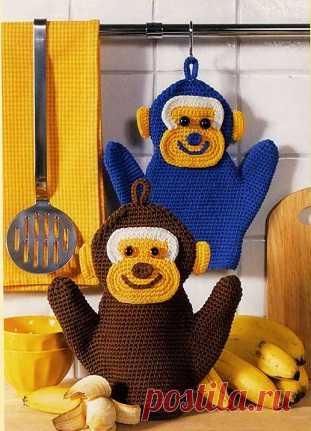 Веселые мартышки для Вашей кухни.