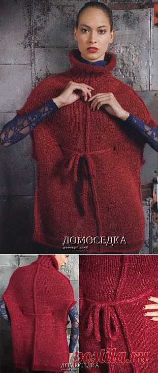Красная накидка | ДОМОСЕДКА