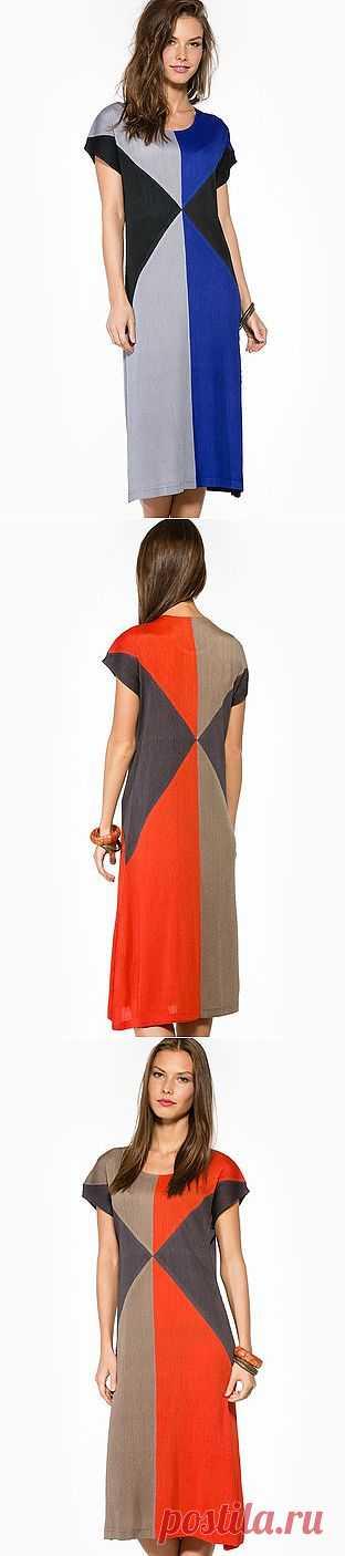 Стройнящие платья Trends Brands (подборка) / Пэчворк / ВТОРАЯ УЛИЦА