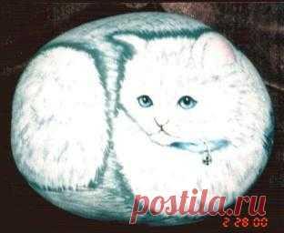 rockpaintingiii: View Photo:Persian Cat