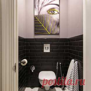 Туалеты фото - 100 тыс, дизайн туалета, варианты оформления и декора туалетных комнат | Houzz Россия