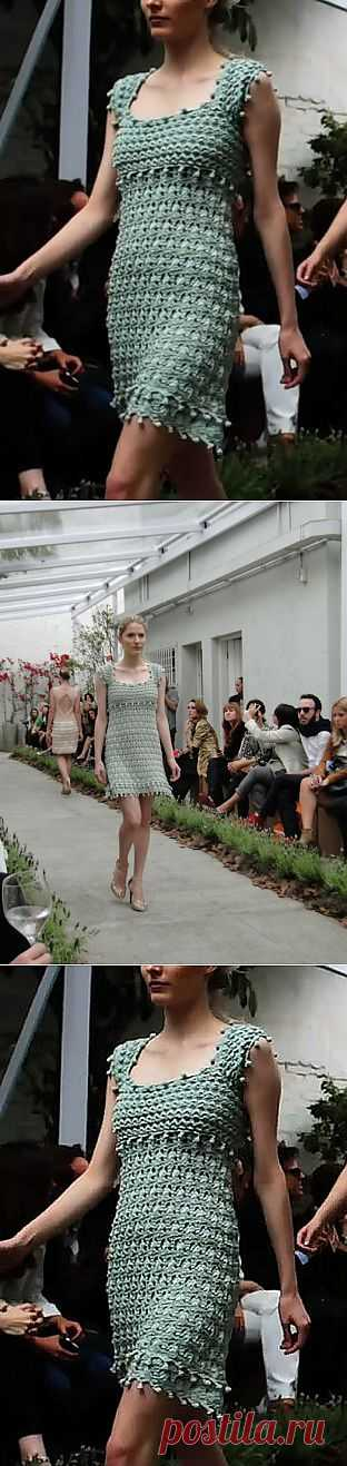 """Платье """"Валенсия"""" от Ванессы Монторо ."""