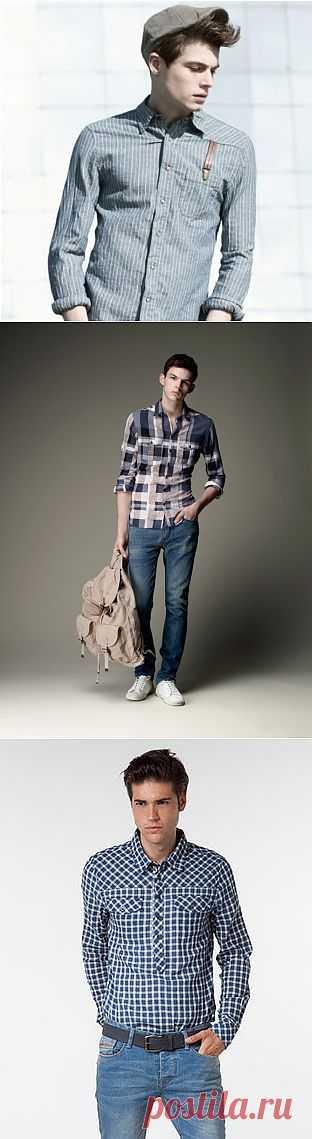 Три идеи для мужских рубашек / Рубашки / Модный сайт о стильной переделке одежды и интерьера