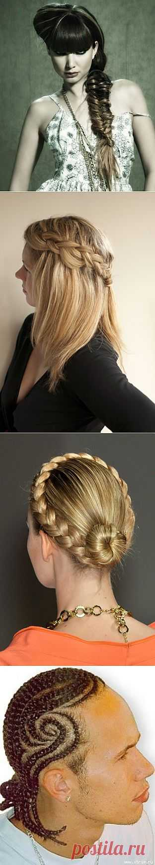 3 косы для девушки и... / Прически / Модный сайт о стильной переделке одежды и интерьера