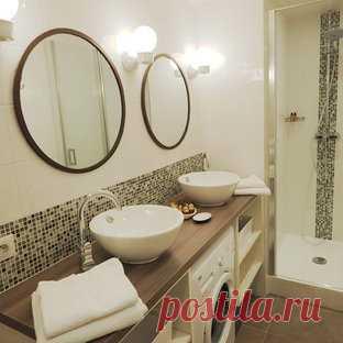 Ванные в современном стиле со стиральной машиной – фото, дизайн, идеи, проекты. Лучшие примеры ванных в современном стиле со стиральной машиной на Houzz.ru!