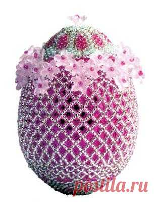Пасхальные яйца из бисера. Приближается светлый день Пасхи и встает вопрос – как украсить яйца, чтобы не стыдно было подарить их родным и близким? Если у вас есть желание и свободное время, можно попробовать себя в бисероплетении.
