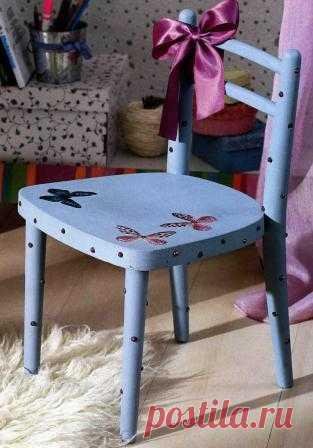 """Детский стульчик """"Бабочка"""""""