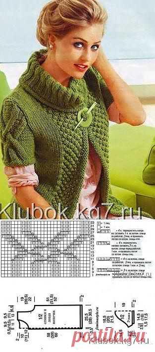 Fashionably and effectively! Stylish elegant vest. | Clever Fingers