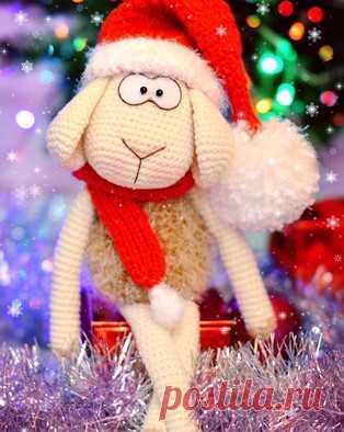 PDF Барашек Бебеша. Бесплатный мастер-класс, схема и описание для вязания игрушки амигуруми крючком. Вяжем игрушки своими руками! FREE amigurumi pattern. #амигуруми #amigurumi #схема #описание #мк #pattern #вязание #crochet #knitting #toy #handmade #поделки #pdf #рукоделие #барашек #баран #бараш #овечка #овца #sheep #новогодний