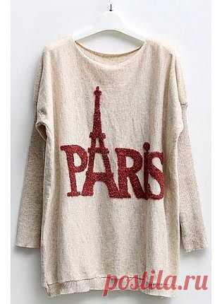 Париж / Рисунки и надписи / Модный сайт о стильной переделке одежды и интерьера