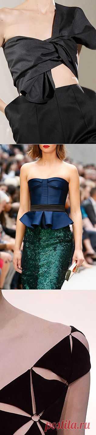Дизайнерские детали одежды (подборка) / Дизайнеры / Модный сайт о стильной переделке одежды и интерьера