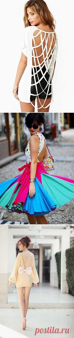 Люблю твой стайл, особенно вид сзади... (трафик) / Декор спины / Модный сайт о стильной переделке одежды и интерьера