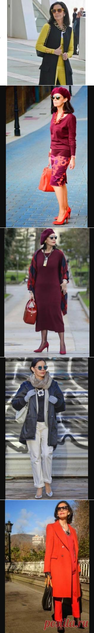 Как в 60 лет не выглядеть молодящейся бабушкой и при этом выглядеть стильно. Фот-примеры | Fashion Channel | Яндекс Дзен
