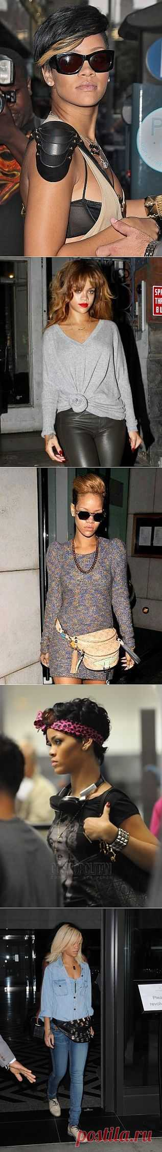 Рианна - наш человек / Звездный стиль / Модный сайт о стильной переделке одежды и интерьера