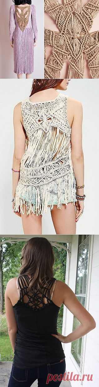 Спинки-макраме (подборка) / Декор спины / Модный сайт о стильной переделке одежды и интерьера