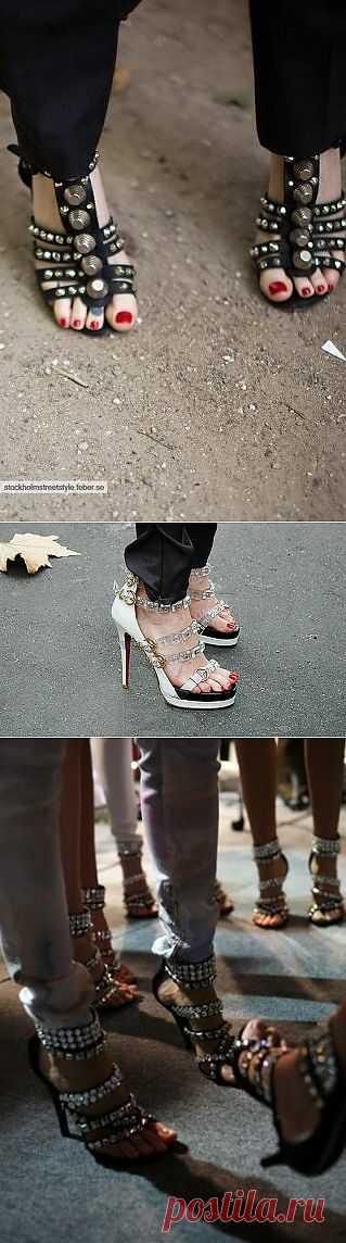 Босоножки, пришло ваше время! / Обувь / Модный сайт о стильной переделке одежды и интерьера