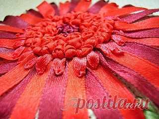 Курс вышивки лентами / Вышивка лентами / PassionForum - мастер-классы по рукоделию