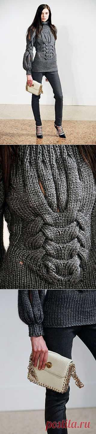 Красивый свитер / Вязание / Модный сайт о стильной переделке одежды и интерьера