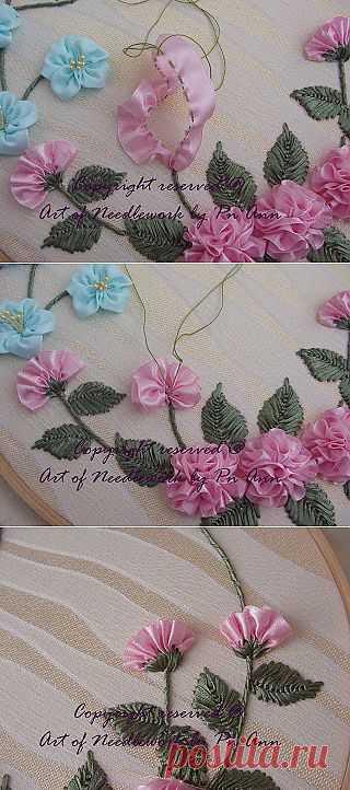 Сюзана Мустафа: Вышивка цветка гвоздики