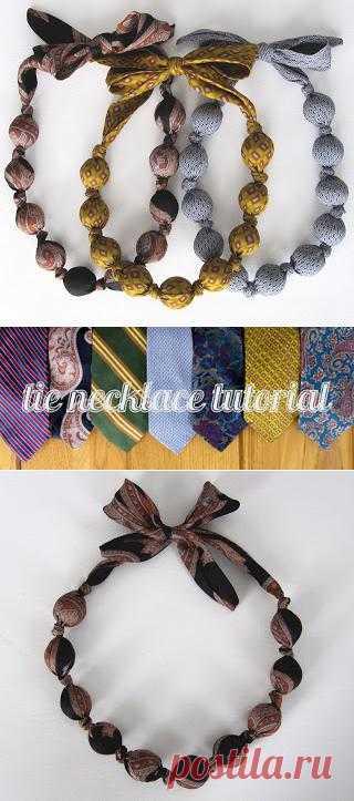 Даем галстукам вторую жизнь