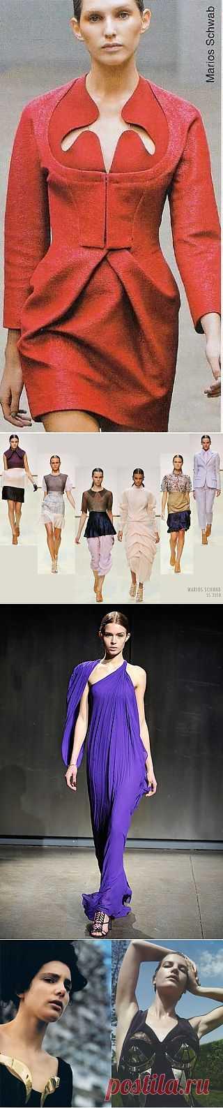 Marios Schwab (трафик) / Дизайнеры / Модный сайт о стильной переделке одежды и интерьера