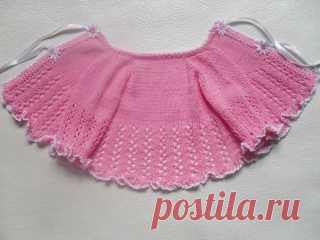 Комплект для новорожденного «Розовые сны» — часть 2 — Вяжем для самых маленьких! Блог Владимировой Татьяны