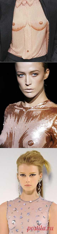 """""""Откровенная"""" блузка / Креатив / Модный сайт о стильной переделке одежды и интерьера"""