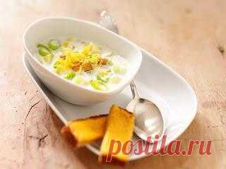 InVkus: Весенний суп с базиликом и соусом Песто