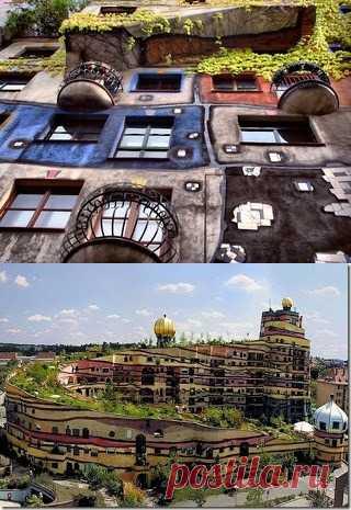 Хундертвассер и его Сказочные дома.