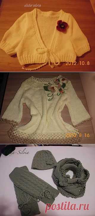 Pasiunea mea tricotat &crosetat! Elida-Silvia