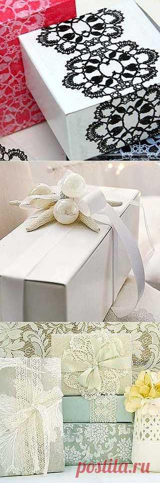 Как красиво упаковать подарок: 15 блестящих идей