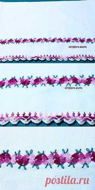 By There Maria: Pano de Prato Croche