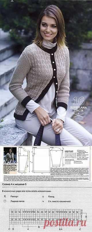 Блоги@Mail.Ru: Жакеты спицами для женщин